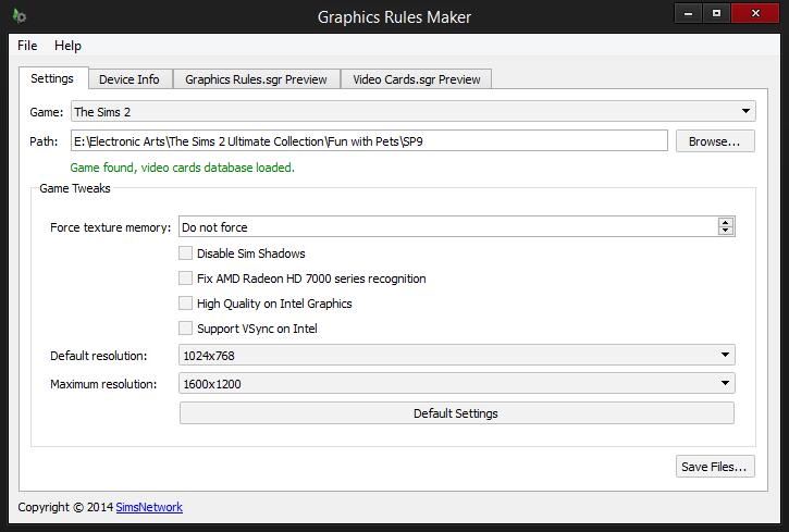 Graphics Rules Maker