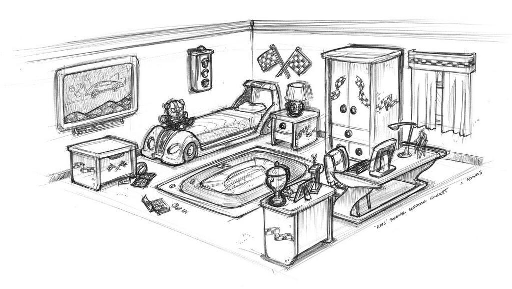 Rode Slaapkamer Ideen : Sims Seasons Family Cars