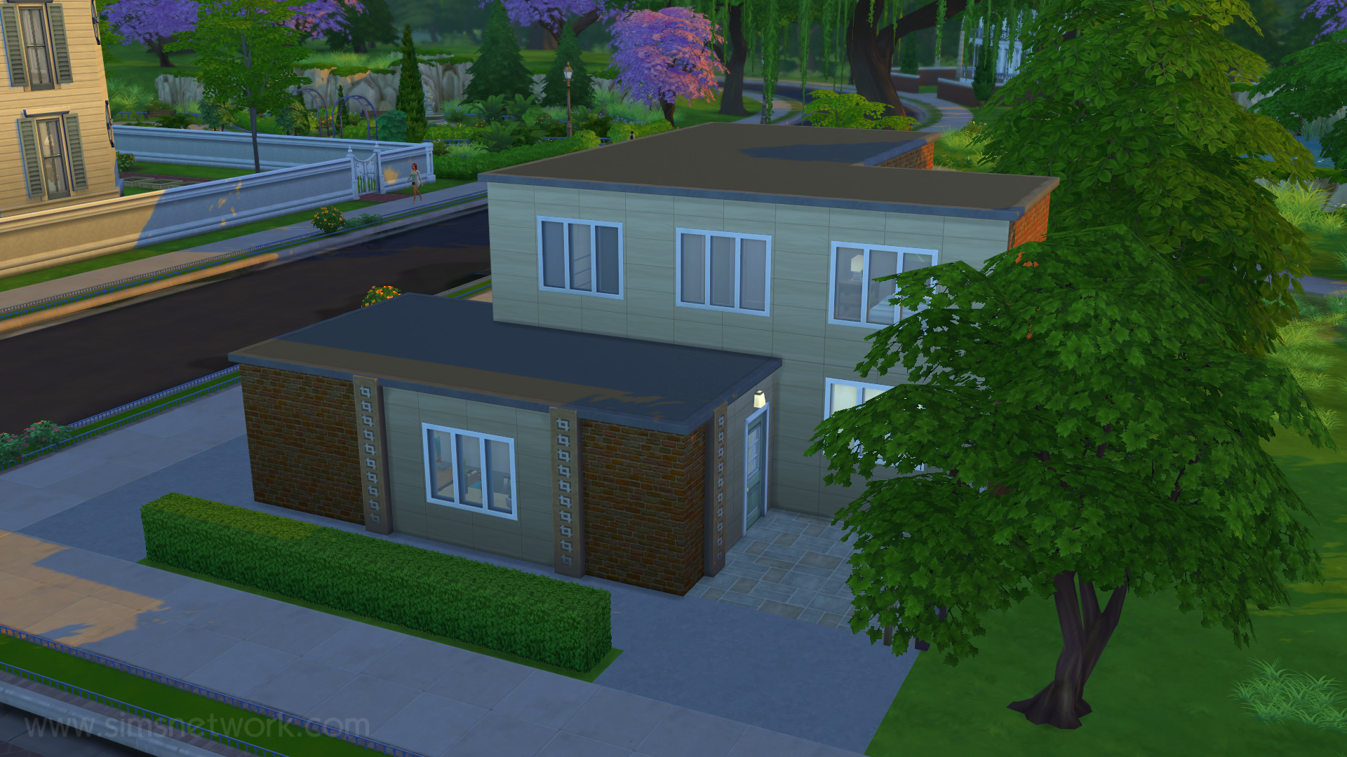Mijn real life huis in de sims 4 snw for Huizen ideeen