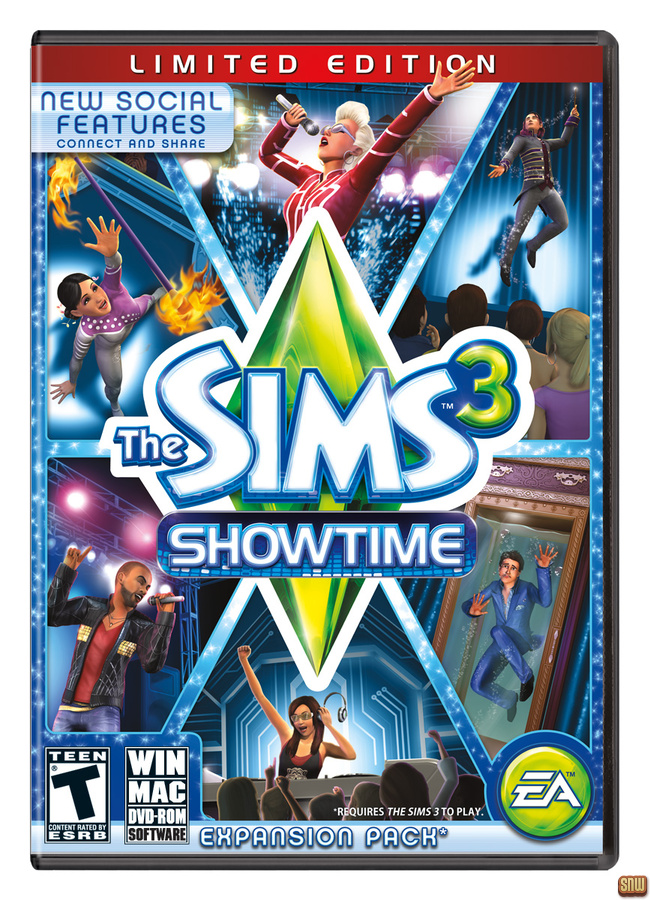 De Sims 3 Showtime
