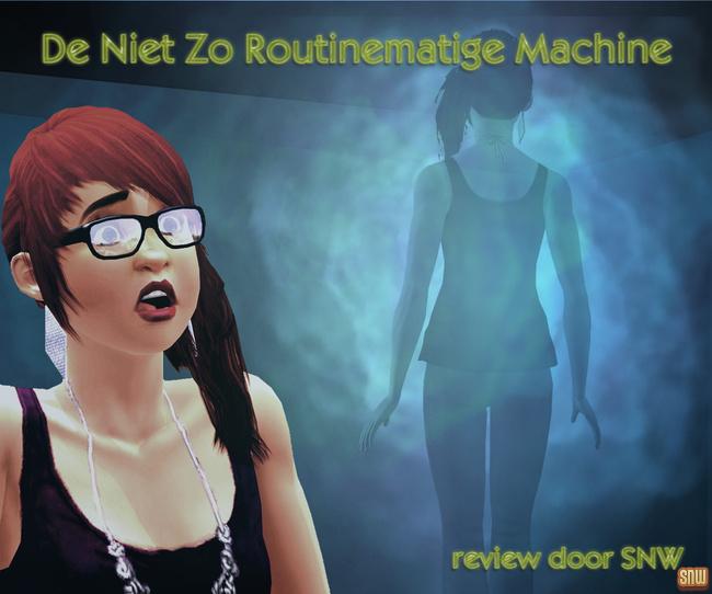 De Niet Zo Routinematige Machine (premium content voor De Sims 3)