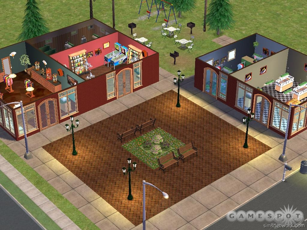 The sims 2 designer diary snw for Minimalist house sims 2