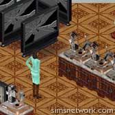 The Sims Livin' Large Comic Strip - Introducing Servo