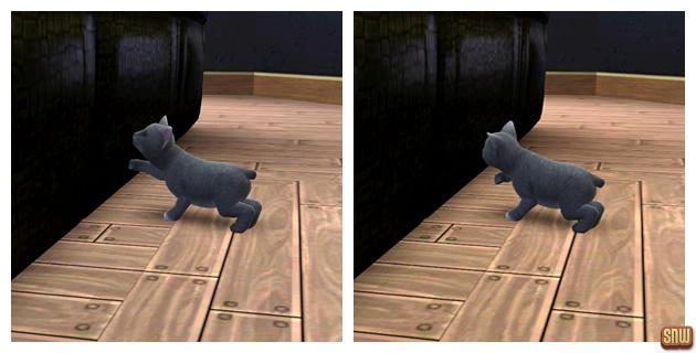 De Sims 3 Beestenbende: Oopsie-Daisy de kat en de bank