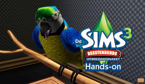 De Sims 3 Beestenbende: Hands-on!
