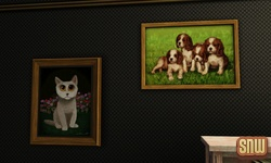 De Sims 3 Beestenbende: Schilderijen
