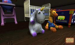 De Sims 3 Beestenbende: Eenhoorn Knuffel