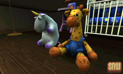 De Sims 3 Beestenbende: Giraffe Knuffel