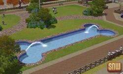 De Sims 3 Beestenbende: Hondenzwembad