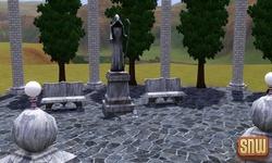 De Sims 3 Beestenbende: Appaloosa Plains Kerkhof
