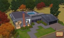 De Sims 3 Beestenbende: Appaloosa Plains Moderne Huizen