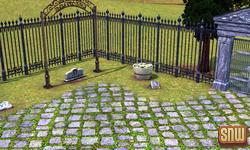 De Sims 3 Beestenbende: Appaloosa Plains Dierenkerkhof