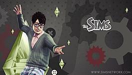 The Sims 10e Verjaardag wallpapers (PSP)