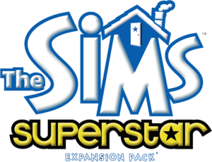 The Sims: Superstar logo