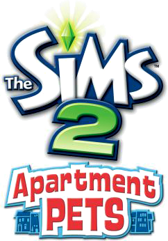 The Sims 2 Apartment Pets logo