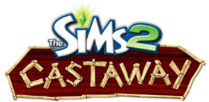 The Sims 2 Castaway logo