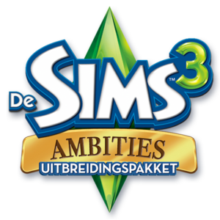 De Sims 3: Ambities logo