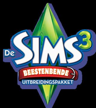 De Sims 3: Beestenbende logo