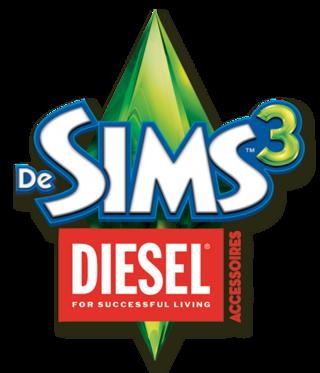 De Sims 3: Diesel Accessoires logo