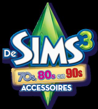 De Sims 3: 70s, 80s & 90s Accessoires logo
