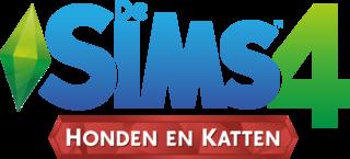 De Sims 4: Honden en Katten logo