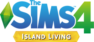 The Sims 4: Island Living logo