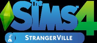 The Sims 4: Strangerville logo