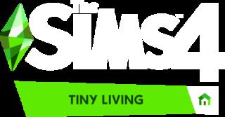 The Sims 4 Tiny Living Stuff logo