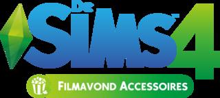 De Sims 4: Filmavond Accessoires logo