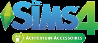 De Sims 4: Achtertuin Accessoires logo