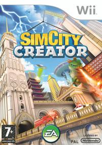 SimCity Creator Wii Box Art Packshot