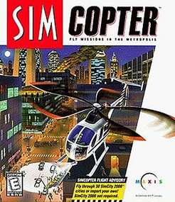 SimCopter Sim Copter packshot box art