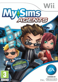 MySims Agents Wii box art packshot