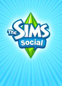 The Sims Social box art packshot