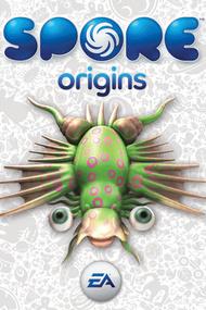 Spore Origins box art packshot