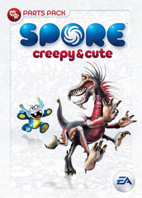 Spore: Creepy & Cute box art packshot