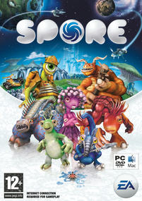 Spore box art packshot