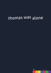 Thomas Was Alone box art packshot