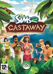 The Sims 2 Castaway for mobile phones box art packshot