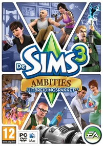 De Sims 3: Ambities box art packshot