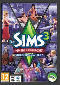 De Sims 3: Na Middernacht box art packshot