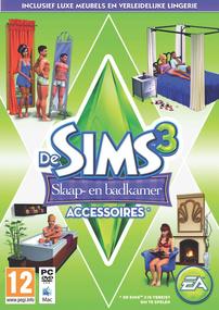 De Sims 3: Slaap- en Badkamer Accessoires box art packshot