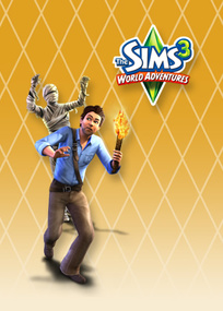 The Sims 3: World Adventures for mobile phones box art packshot