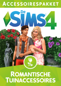 De Sims 4: Romantische Tuinaccessoires box art packshot