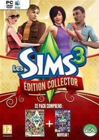 Les Sims 3 Édition Collector (Pack Noel) packshot box art