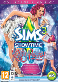 De Sims 3: Showtime (Collector's Edition) packshot box art