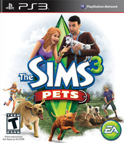 The Sims 3 Pets on Xbox PS3