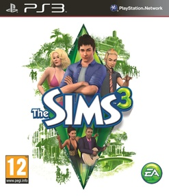 The Sims 3 on PS3 packshot box art