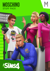 The Sims 4: Moschino Stuff Pack Box Art Packshot Cover