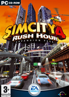 SimCity 4: Rush Hour box art packshot